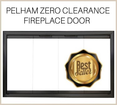 The best selling Pelham zero clearance fireplace door - buy now!