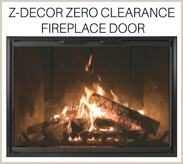 The Z-Decor prefab door is simple and stylish! Buy it now!