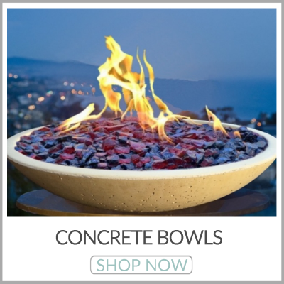 Concrete Fire Bowls | Round Fire Bowls | Square Fire Bowls | Precast Fire Bowls