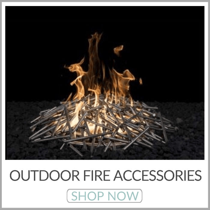 Outdoor Fire Accessories | Electronic Ignition Kits | Stainless Steel Fire Pit Burners | AWEIS | Fire Pit Screens | Fire Pit Grates | Lava Rock | Fire Glass