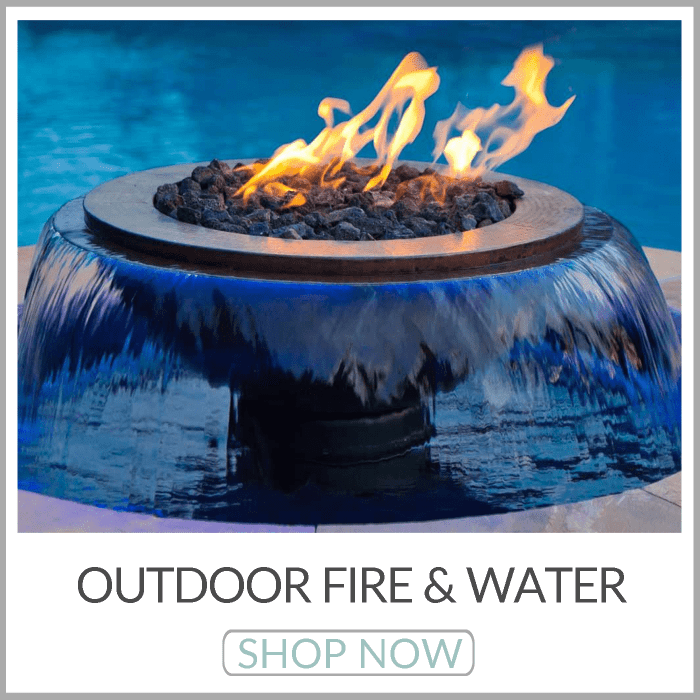 Outdoor Fire & Water Features