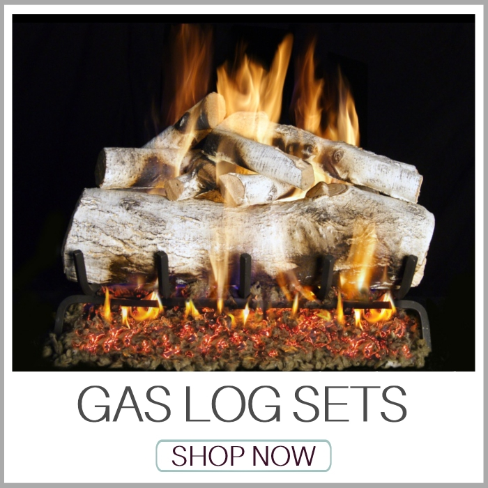 Vented and Ventless Gas Log Sets | Contemporary Gas Log Sets