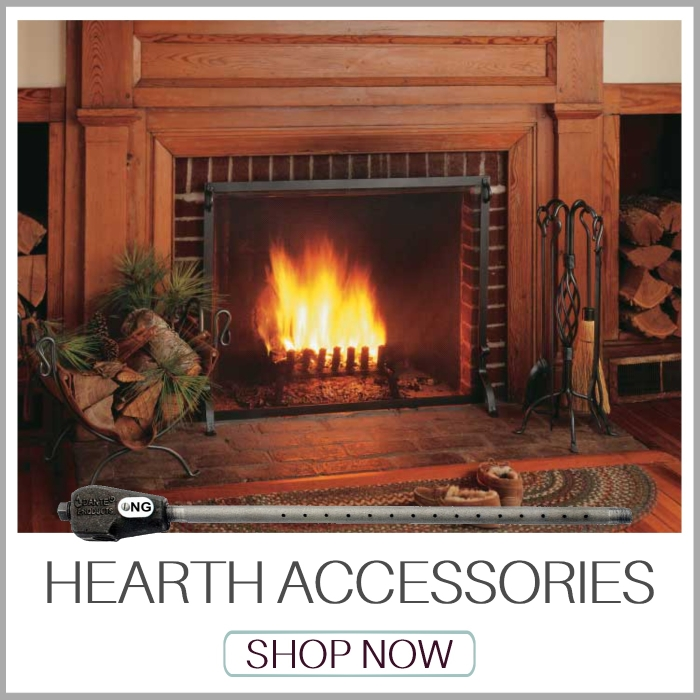 Hearth Accessories | Gas Log Lighters | Fireplace Screens | Fireplace Mesh | Fireplace Tool Sets | Log Holders