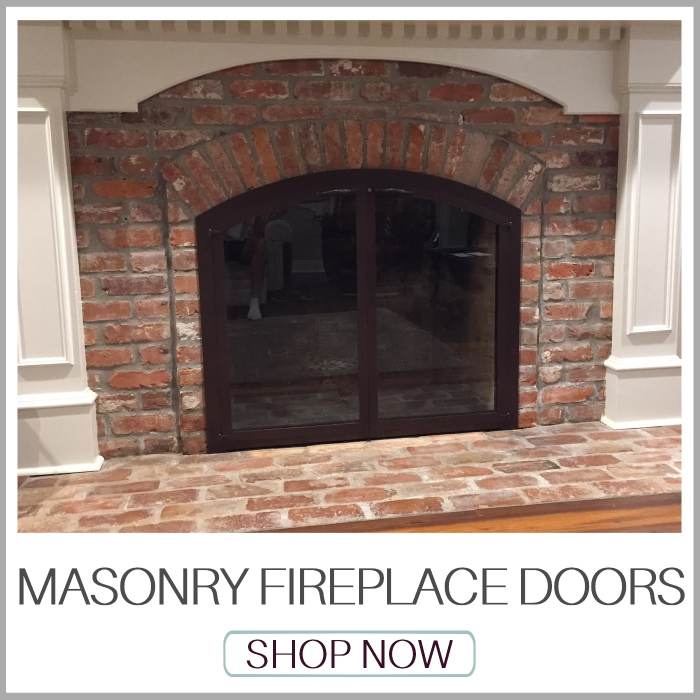 Fireplace Doors | Masonry Fireplace Doors