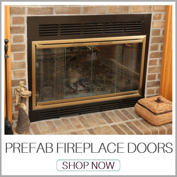 Fireplace Doors | Prefabricated Fireplace Doors