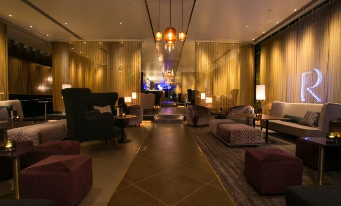 Gorgeous drapery at Two Ruba Hilton London Tower!