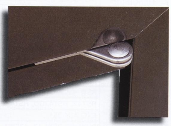 Hardware for outdoor door