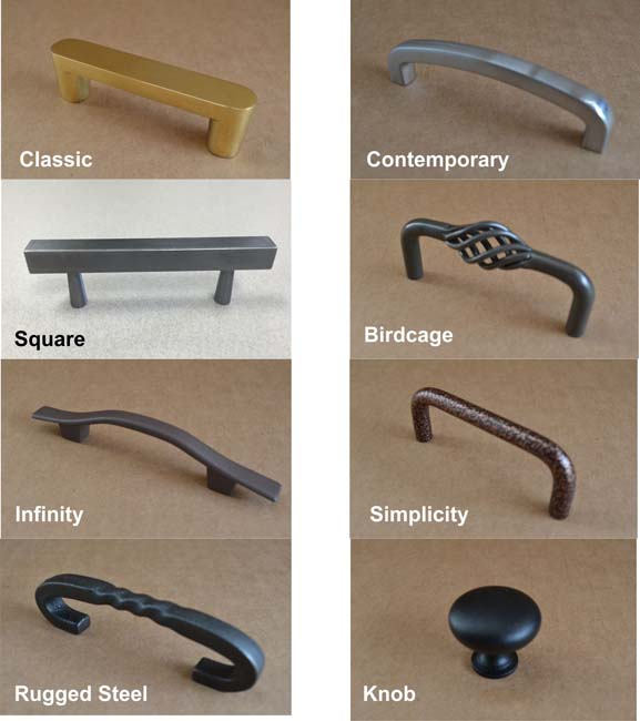 Choose a handle type
