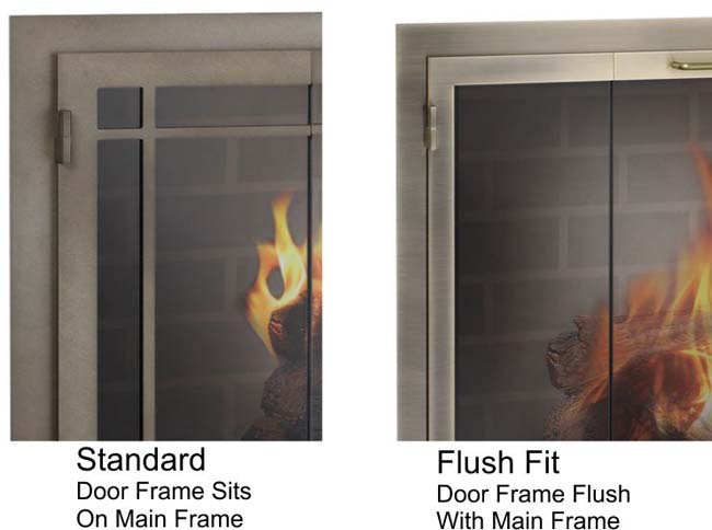 Would you like a flush fit door?
