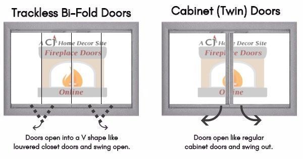 Bi-fold Doors vs. Cabinet Doors - here's the difference!
