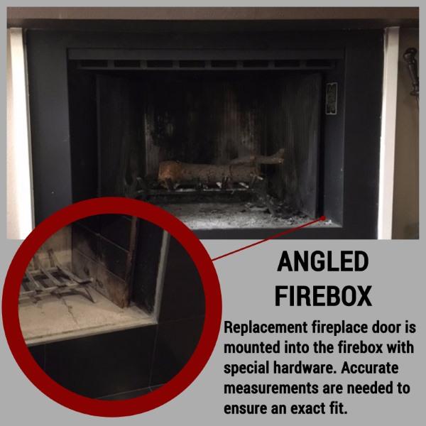 Angled Firebox