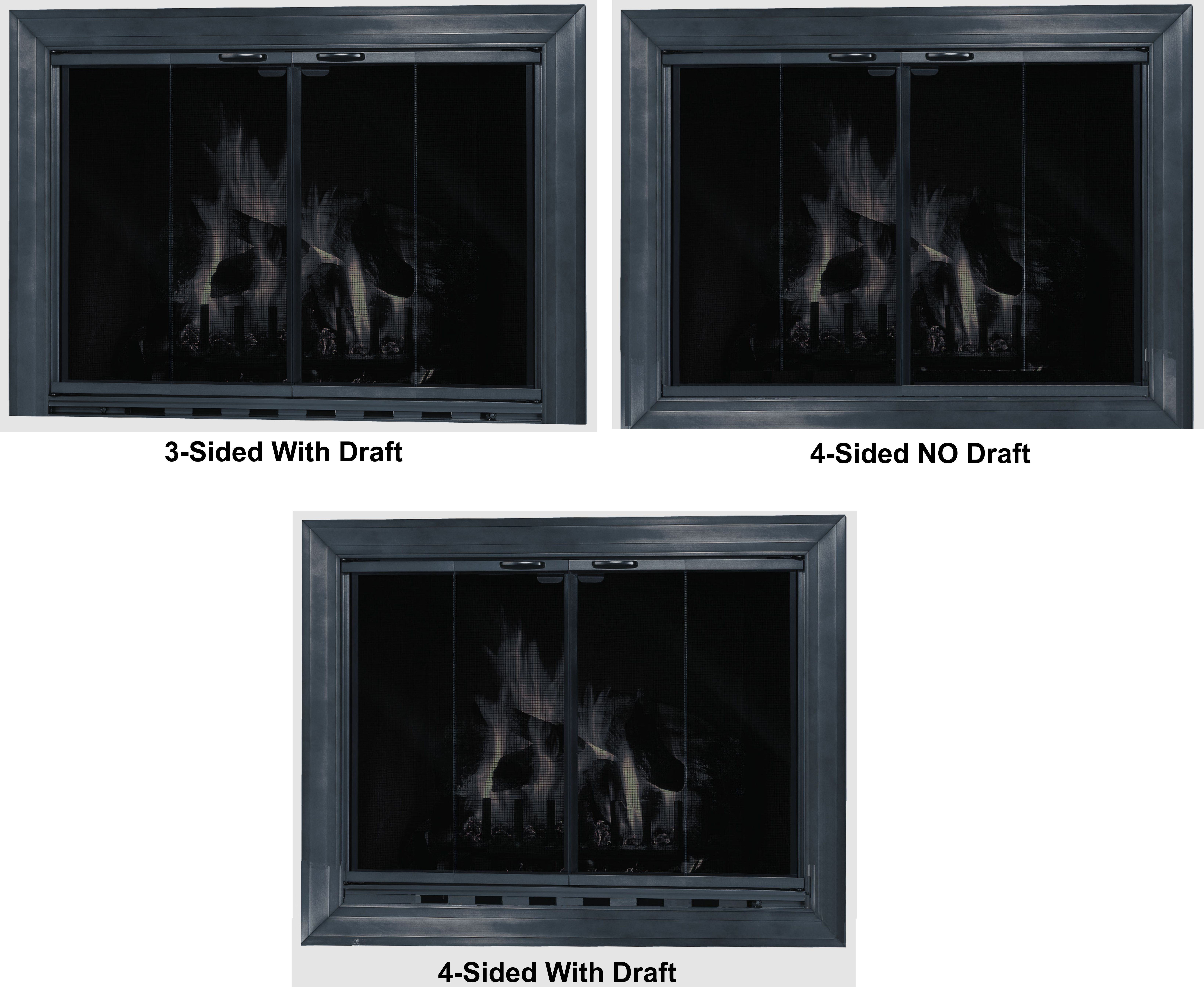 What type of damper for your fireplace door?