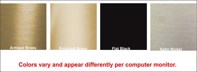 Select the color for your fireplace door