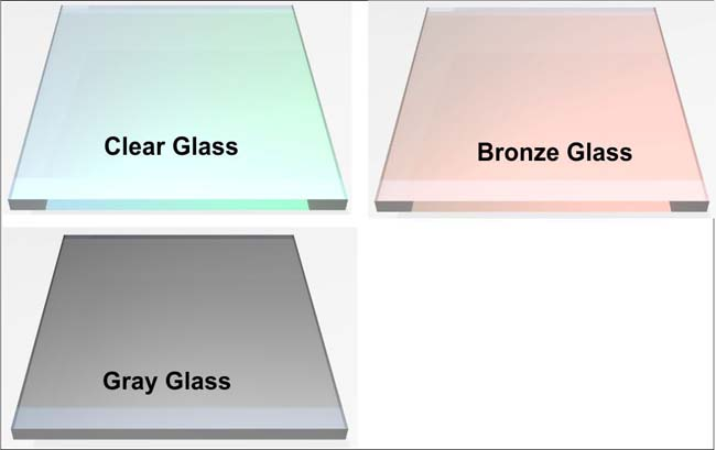 Which color glass would you like for your fireplace door?