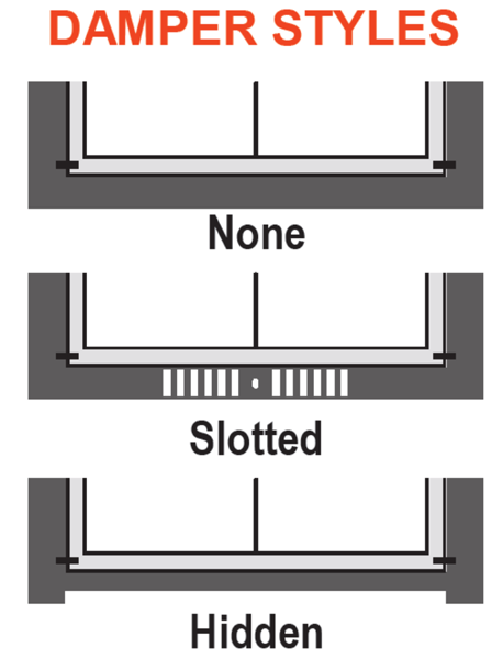 Select a damper style