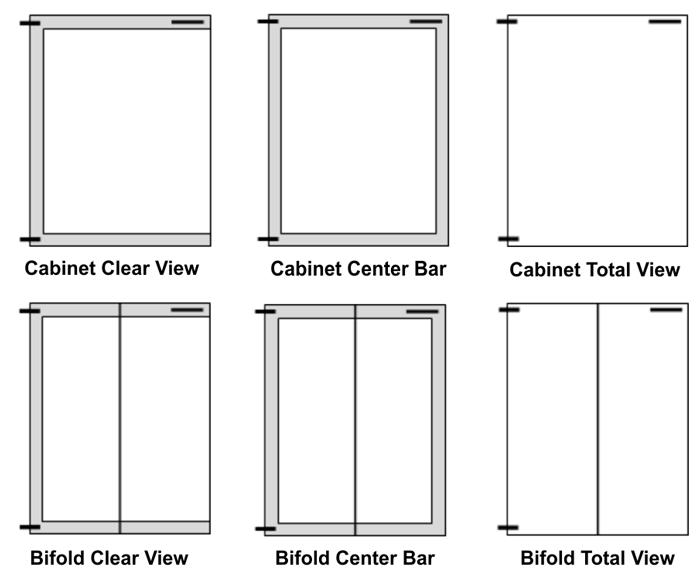 What type of door for your fireplace doors?