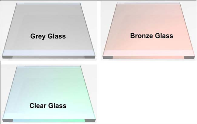 Choose glass color