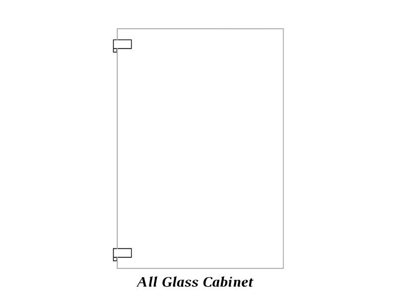 All Glass cabinet door