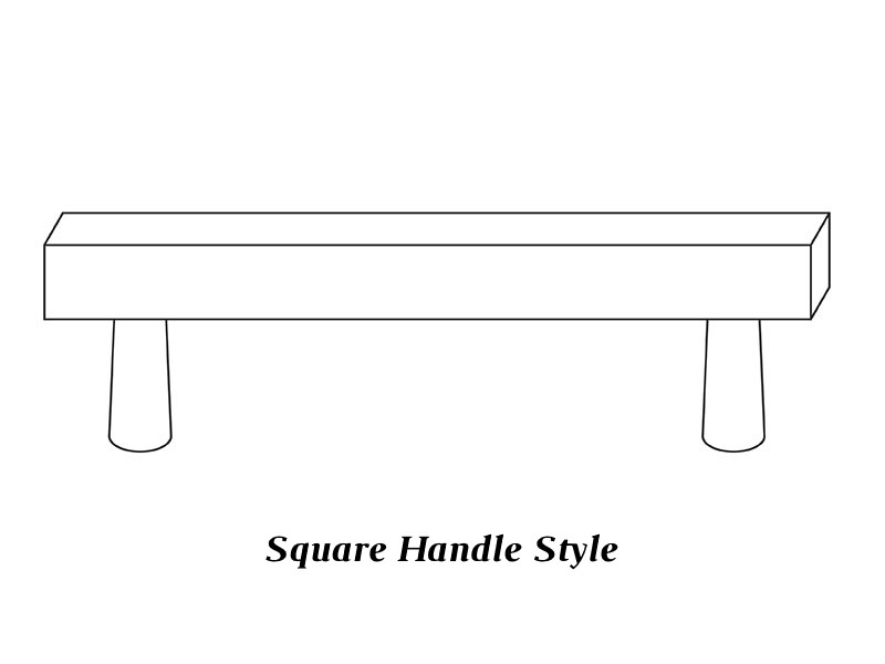 Square Handle Style
