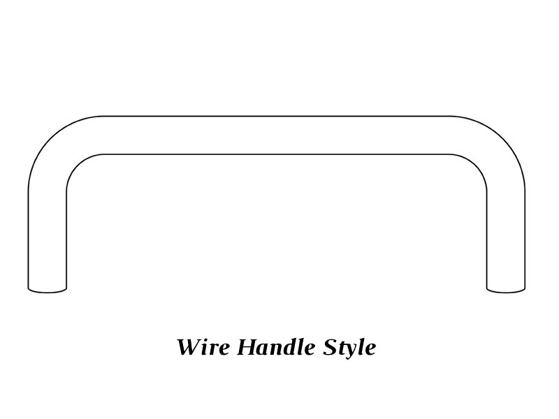 Wire handle style