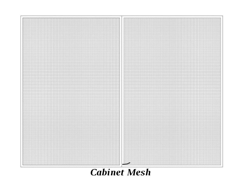 Cabinet Mesh