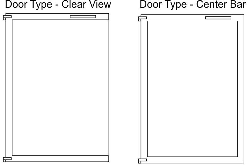 Available Door Types