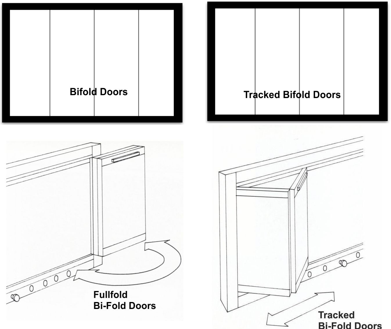 Bifold or tracked bifold doors?