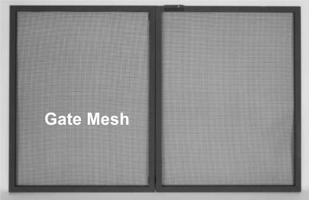 Protect yourself with fireplace mesh