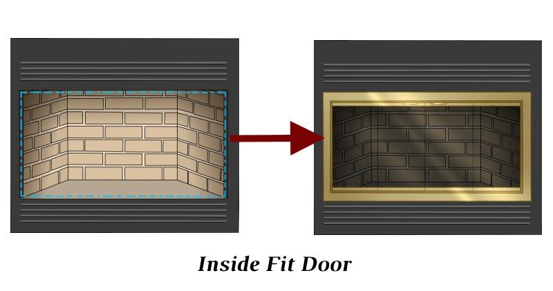 Inside Fit Zero Clearance Door