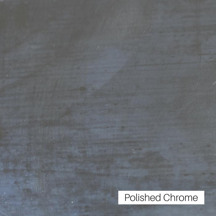 Polished Chrome Finish