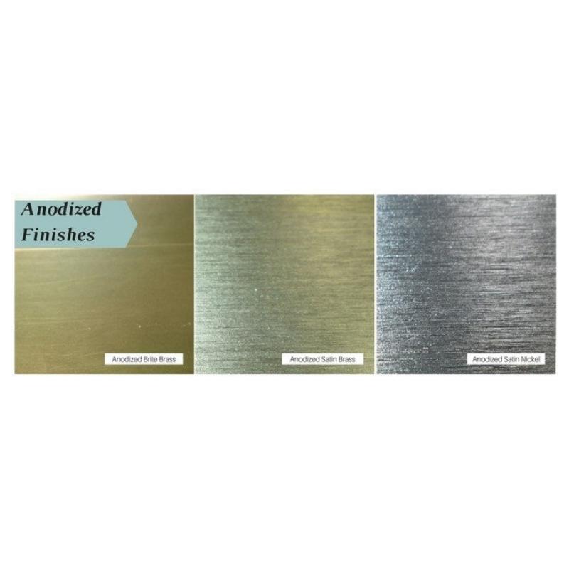 Design Specialties Aluminum Anodized Finishes