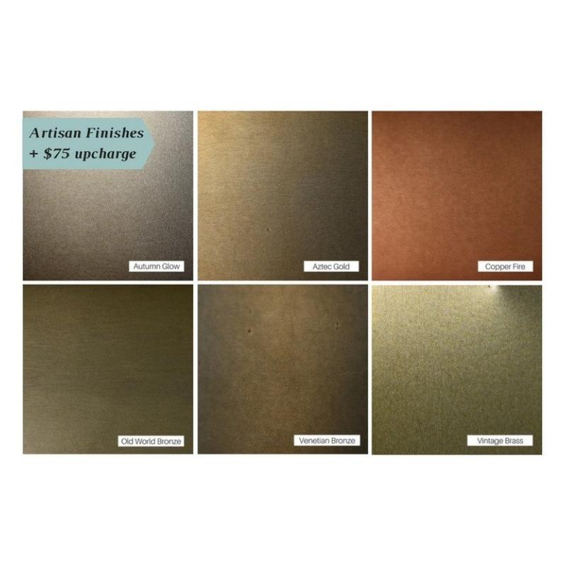 Design Specialties Aluminum Artisan Finishes