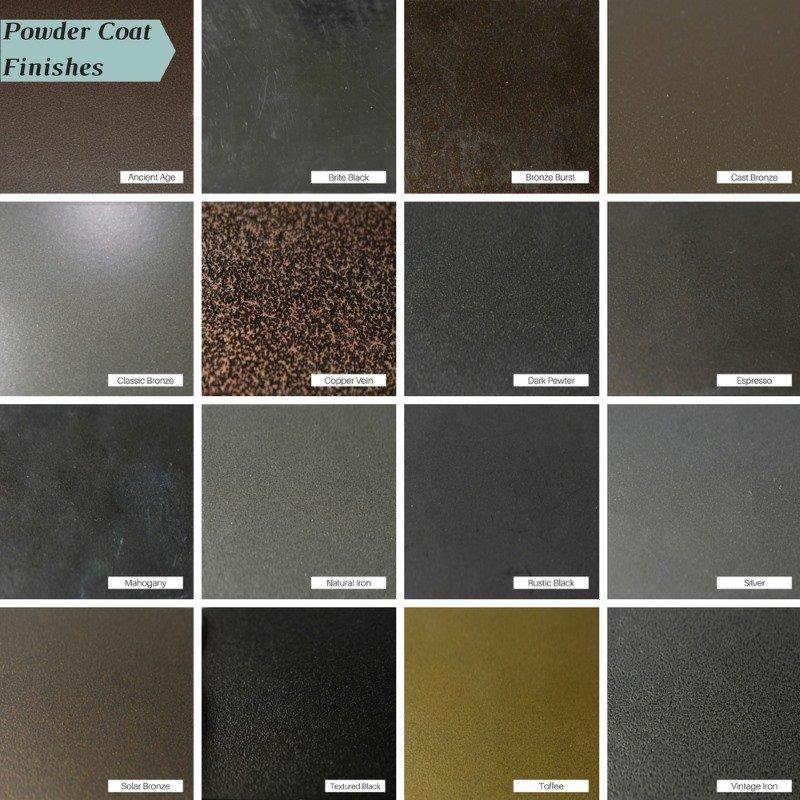 Design Specialties Aluminum Powder Coat Finishes