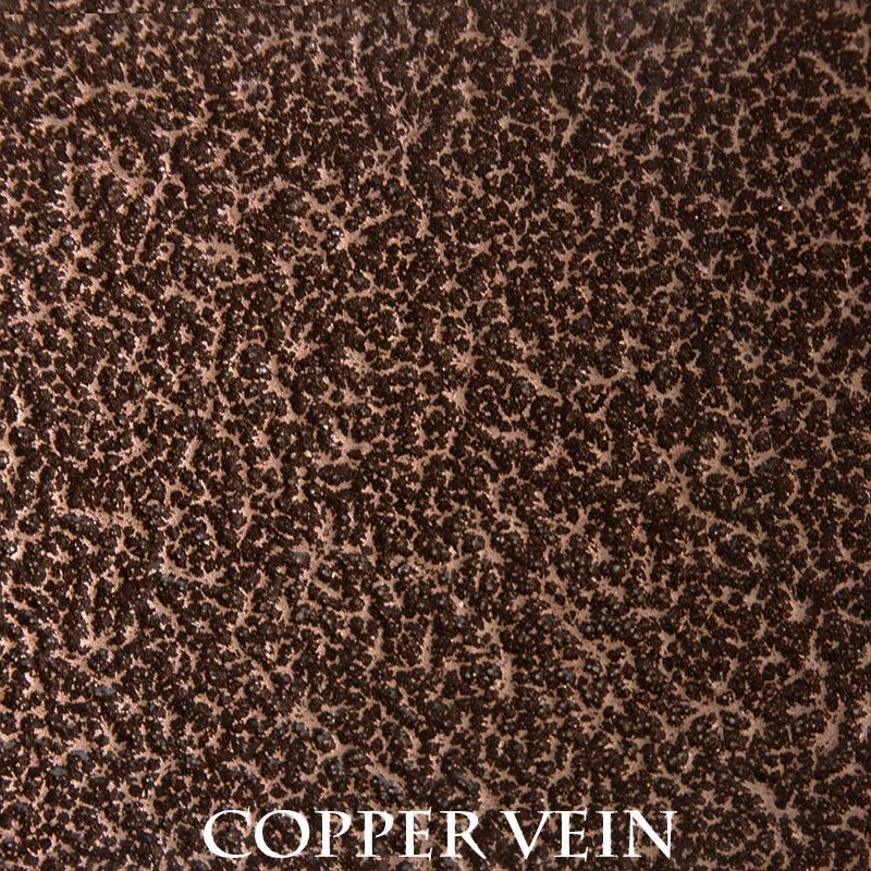 Copper Vein powder coat finish