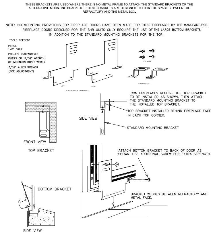 Wedge Fit Door Installation