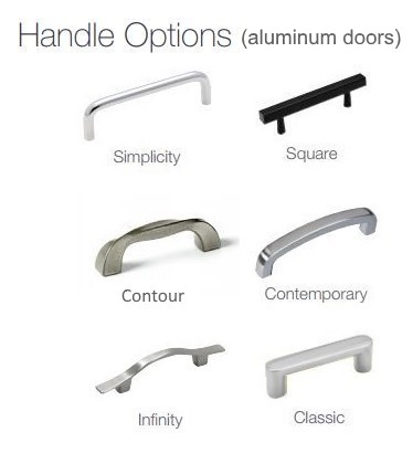 Design Specialties door handle options