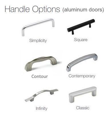 Design Specialties door handle options