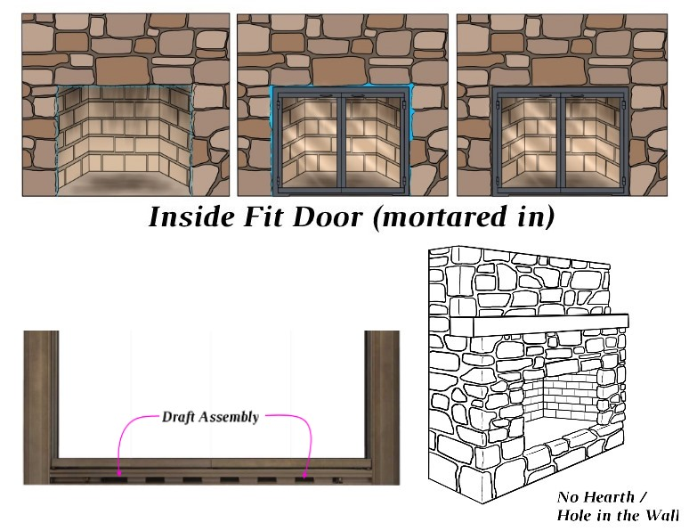 Inside Fit - Draft Assembly - No Hearth
