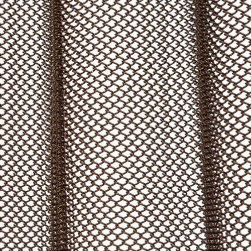 Antique Bronze mesh shower curtain