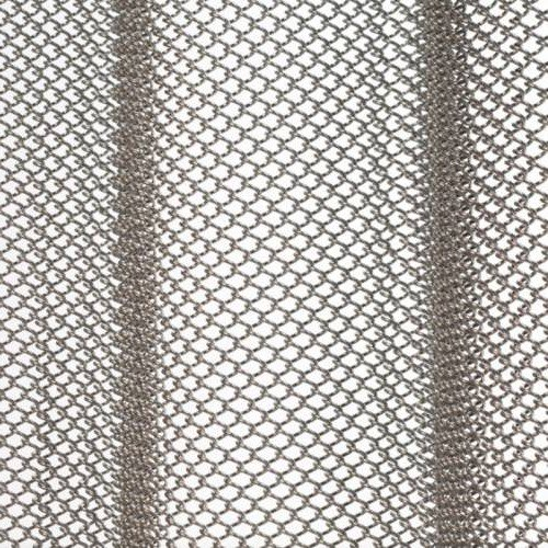 Brite Aluminum mesh shower curtain