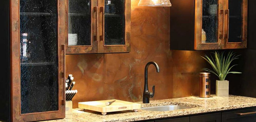 Copper Back Splash