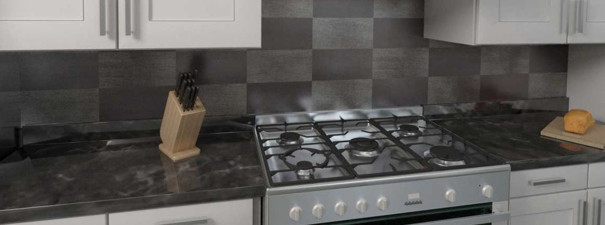 Backsplash Antique Grey