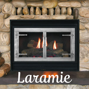 Laramie Zero Clearance Fireplace Door