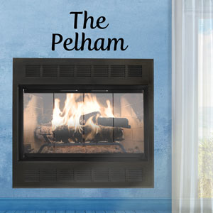 The Pelham Fireplace Door - Affordable and a customer favorite!