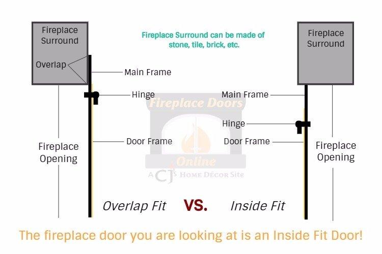 Select the door fit for your fireplace door.