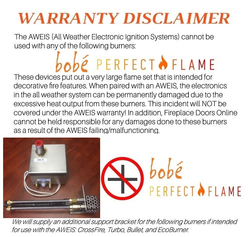 Important safety & warranty information!
