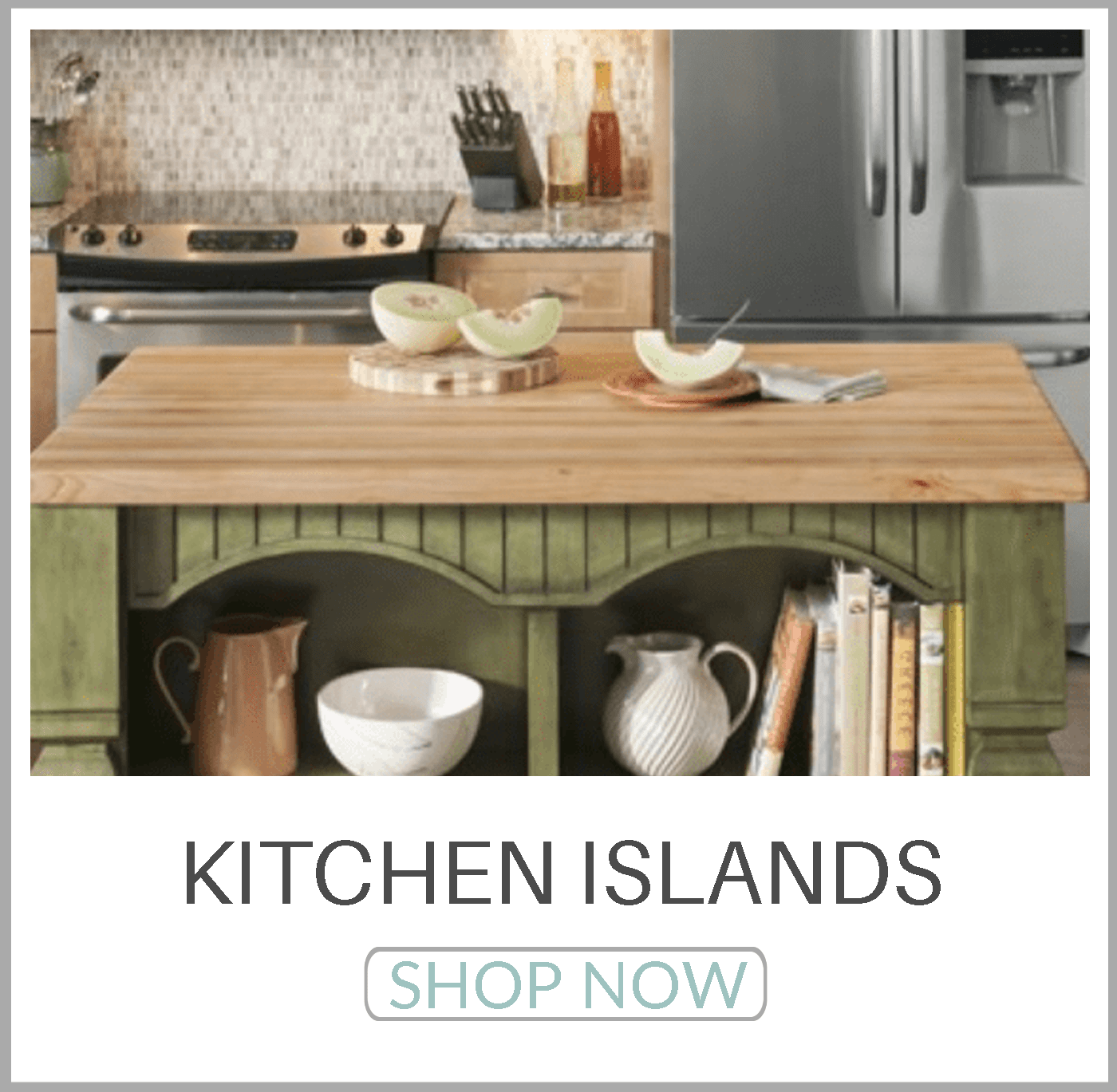Shop All Kitchen Islands NOW