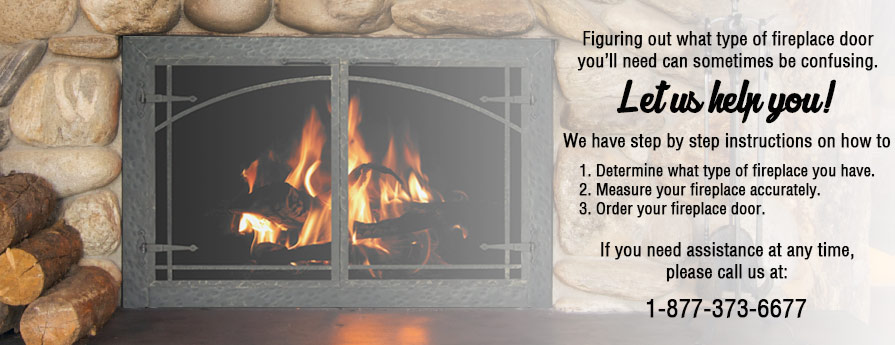 How to order your fireplace door