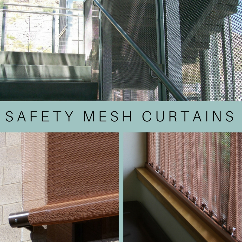 Get custom made safety mesh curtains!