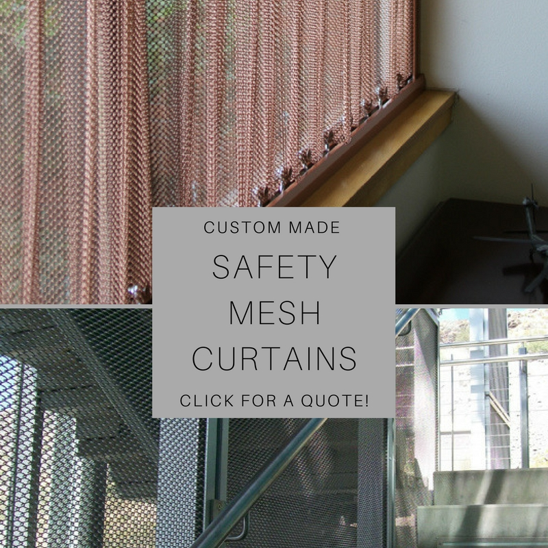 Custom Made Safety Mesh Curtains